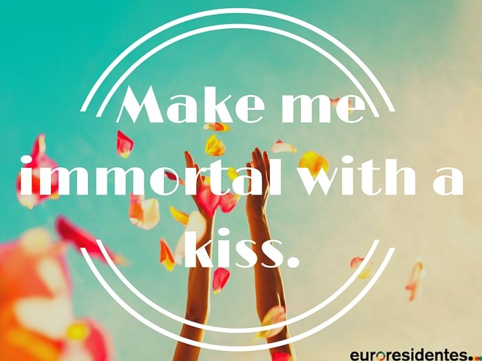 Frases amor para románticos