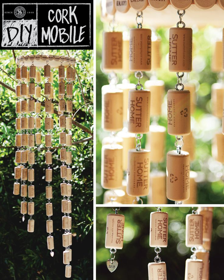 330 best wine diy images on pinterest Wine cork birdhouse instructions
