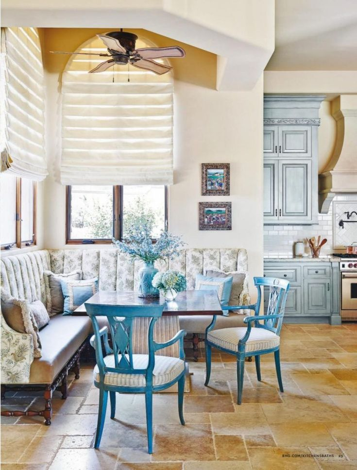 french country kitchen in blue color scheme country kitchen blue color schemes tuscan design on kitchen decor blue id=28365