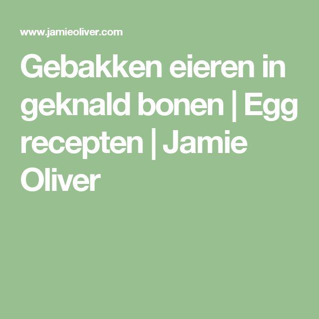 Gebakken eieren in geknald bonen |  Egg recepten |  Jamie Oliver