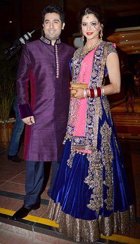 Popular TV actress Aamna Sharif Wedding Reception Pictures | Bigindianwedding.com