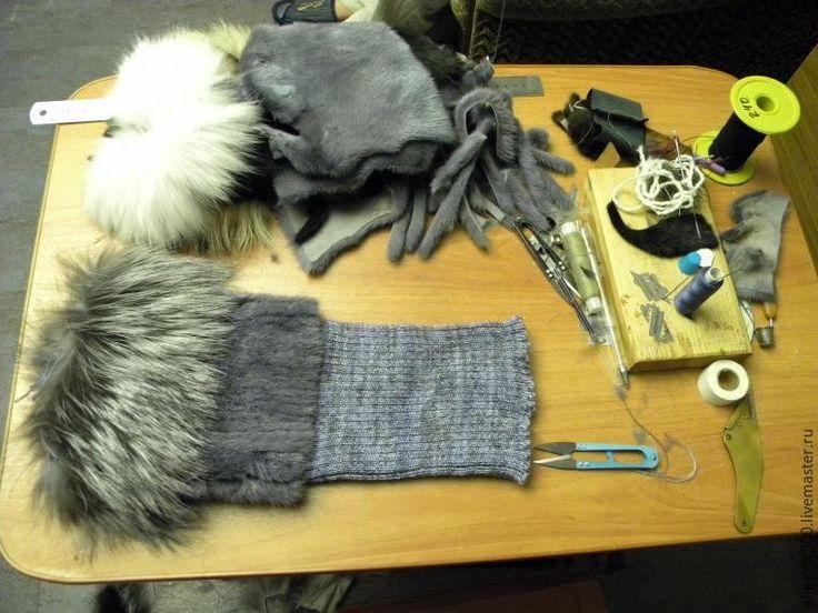 Как сшить меховую шапку методом нашивки меховых полосок - Ярмарка Мастеров - ручная работа, handmade