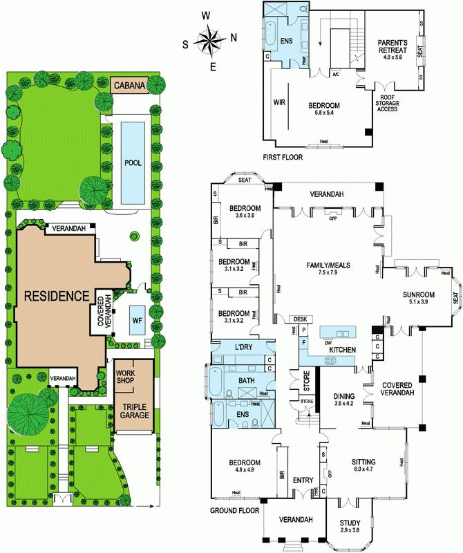 15 best images about floor plans on pinterest mansions for Beach house designs melbourne