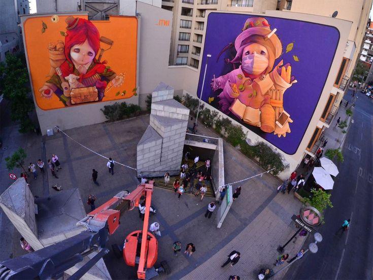 Los murales de INTI