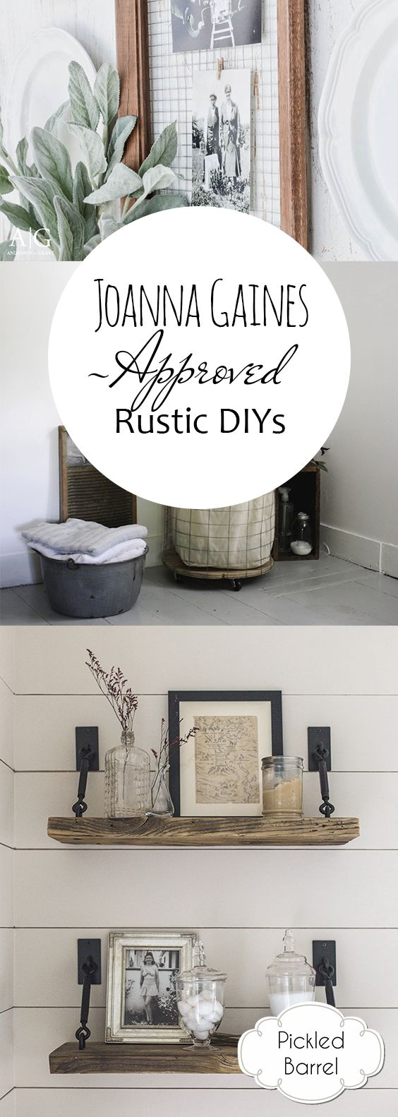 Joanna Gaines-Approved Rustic DIYs