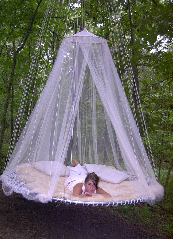 Love being outside but hate bugs...this would be perfect