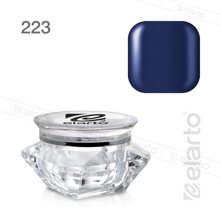 Żel kolorowy Extreme Color Gel nr 223 - granatowy 5g #elarto #żel #kolorowy #granatowy