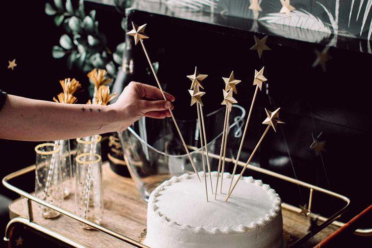 3D Star Cake Topper
