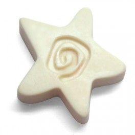 Molde para hacer jabones Estrella con Espiral, molde de silicona artesano 2D. DIY