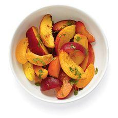 Twelve Stone Fruit Recipes - NYTimes.com: Fruit Salad, Recipes Fruit Cobblers, Peach Lime, Fruit Recipes, Interesting And Yummy, Dessert
