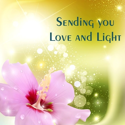 Sending You Love And Light Greetings Amp Wishes
