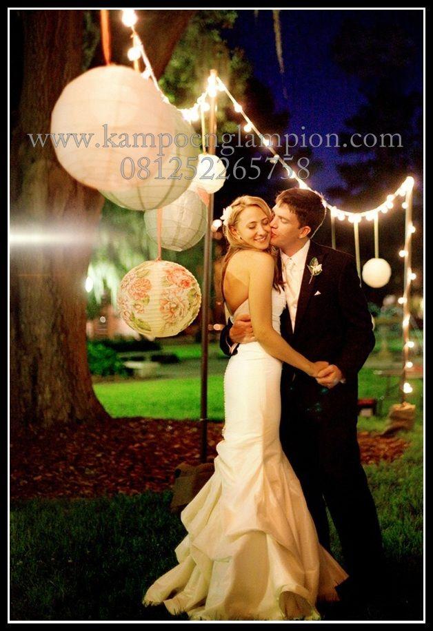 Lampion untuk foto pre wedding