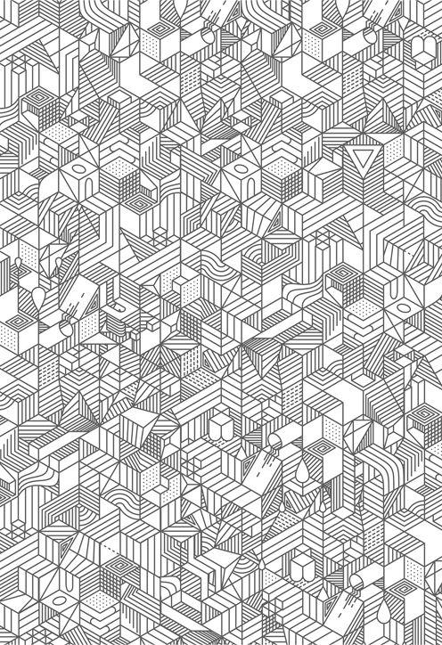 geometric & stripes