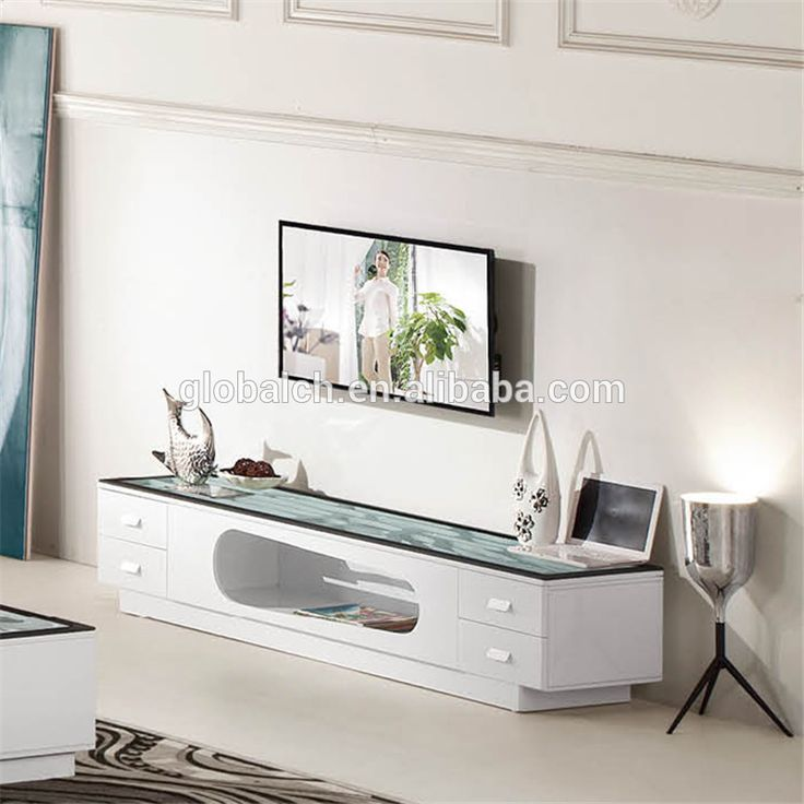 High Gloss Furniture Plasma TV Stand / LED TV Stand