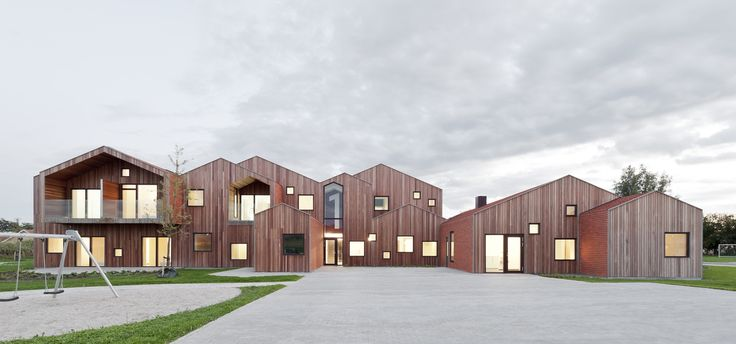 "A children's home from Kerteminde, Denmark, named ""Fremtidens børnehjem"". Architect Mikkel Frost from CEBRA Architecture."