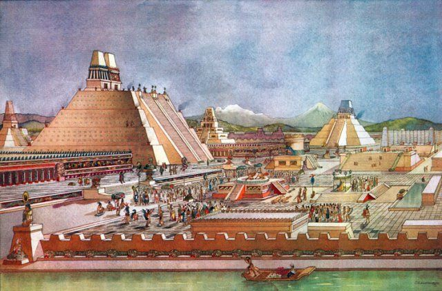 Aztec Empire's Reign And The Complex International Relations In The Region - MessageToEagle.com