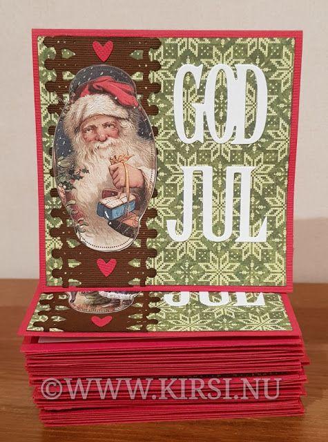 Kirsi: Julkort 2017 - Christmas cards 2017.Jag var inte s...