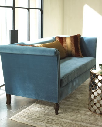 """Living room 2nd option  """"Austin"""" Sofa by Haute House at Horchow."""