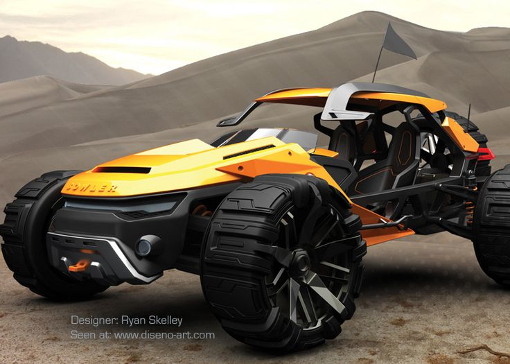 You think this Bowler Raptor is able to cross the dunes on Mars? This concept car from 2009 has been created by Ryan Skelley, who is a graduate from Coventry University. He is also the author of the Sunbeam Tiger concept. The car was meant to participate in the off road race in Mexico Baja, since it is a well developed Buggy Dune and can easily handle the...