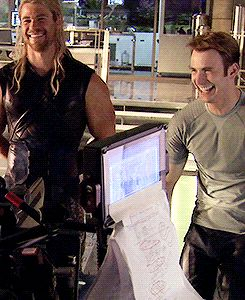 AOU - Behind the scenes - (GIFs)