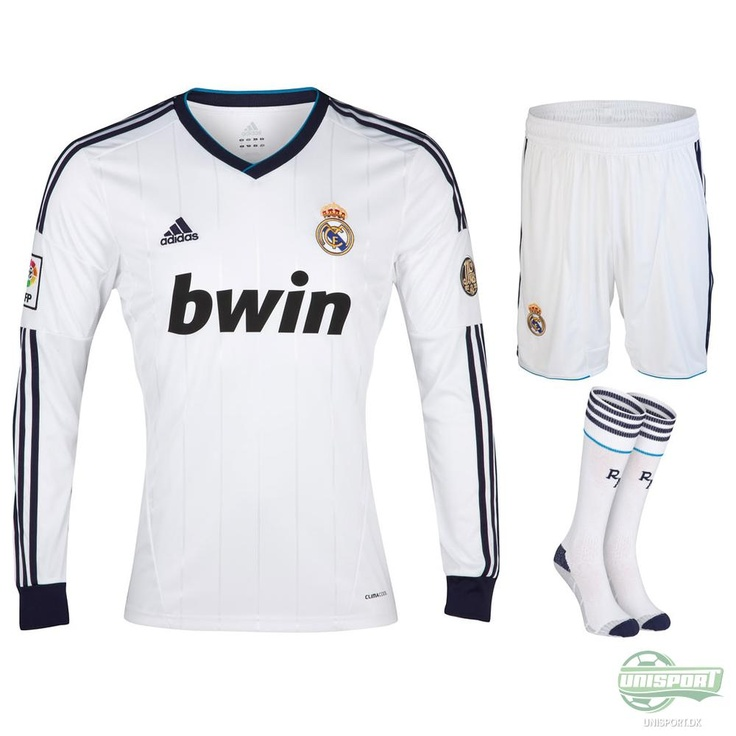 Real Madrid - Hjemmebanesæt 12/13 L/Æ | www.unisport.dk