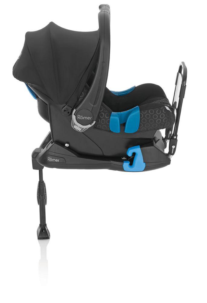 Ninio.ro va pune la dispozitie pentru achizitionare: Scaunul Auto Britax Romer Baby-Safe se prinde cu ajutorul centurii cu prindere in trei puncte din masina. Baza scaunului poate ramane in masina, fixata cu ajutorul centurii, in timp ce scaunul de copil se poate desprinde foarte usor.