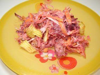 Рецепты овощного салата с гренками
