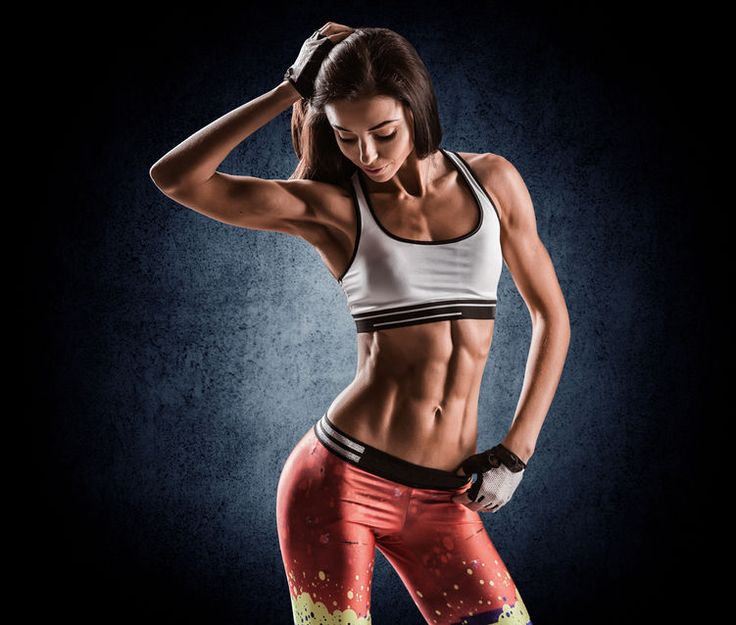 Abs are NOT made in the kitchen...
