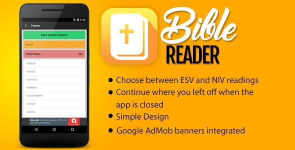 awesome Bible Reader (Complete Applications)