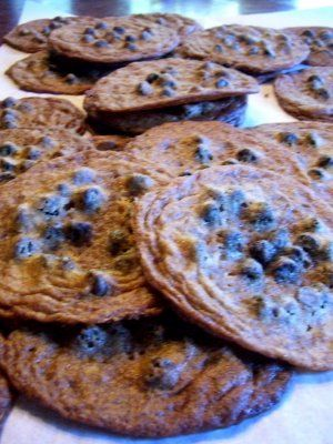 Best chocolate chip cookies ever!!!!!  Alexis's Brown Sugar Chocolate Chip Cookies (Martha Stewart daughter)