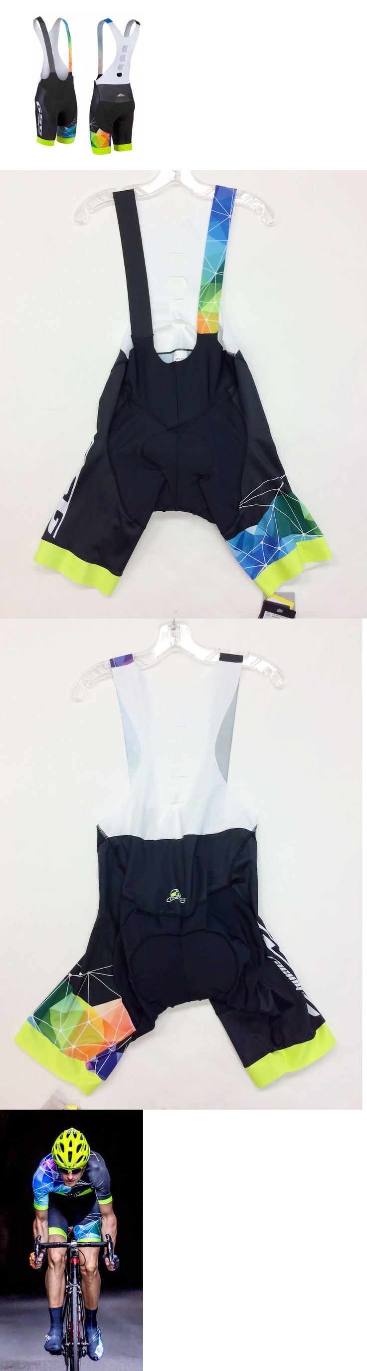 Shorts 177853: Spider Web Professional Cycling Bib Shorts Made In Italy By Gsg -> BUY IT NOW ONLY: $83.96 on eBay!