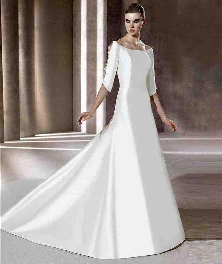 22 best trumpet wedding dresses images on Pinterest | Short ...