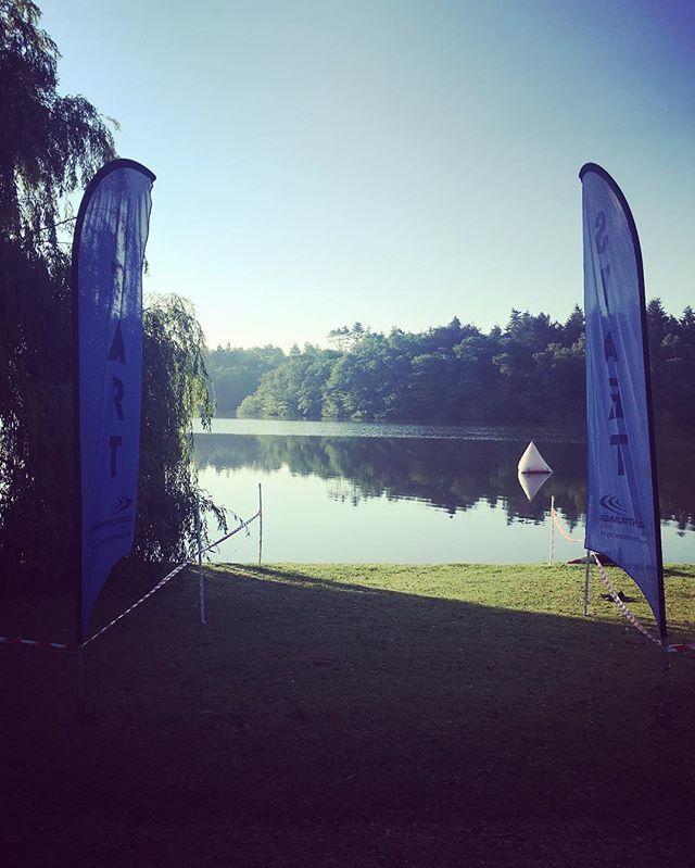 'Startline... . . .  #Chiptiming #frittonlaketri #FrittonLake #Triathlon #race #swim #norfolk #lake #secretgeek 👓 #cycle #run #triathlete #triathletes #swimming #running #cycling #sunny #sunday #socialmedia #fitness #event #eventprofs #socialmediamarketing #eventmarketing #digitalmarketing' by @roweface. What do you think about this one? @southcoastglampingltd @lucie_m_flint @wedtechacademy @sunshineeventsuk @everythingentertainmentny @thisisyrlive @plus351portugal @pcmahq…