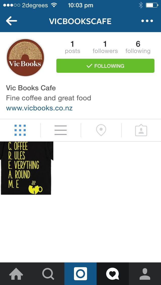Vic Books Cafe now on Instagram. Come follow us down the rabbit hole...