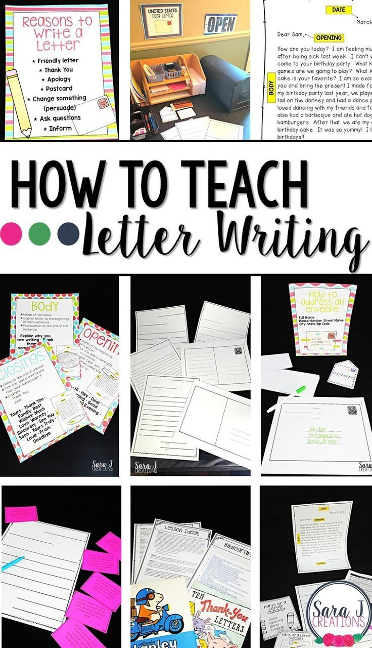 responding to other students writing a letter