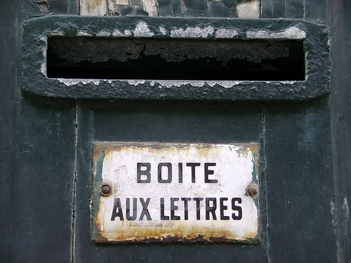 boite aux lettres  #TuscanyAgriturismoGiratola