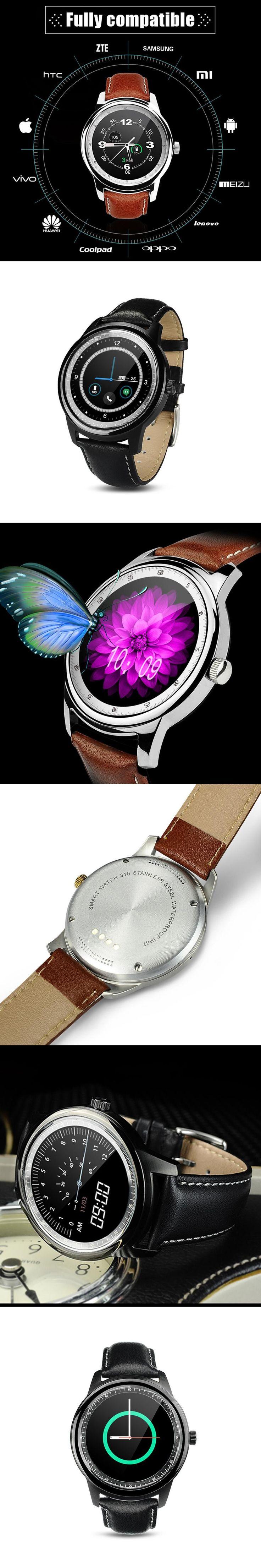 Full Touch Screen Smart Watch Wearable Devices for iPhone Huawei Xiaomi Meizu Sony Samsung Fitness Tracker #smartwatch Wristwatch