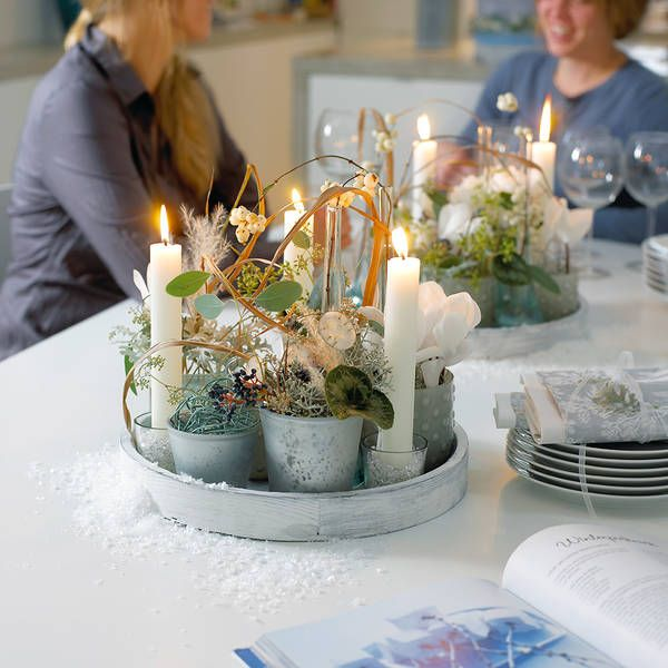 50 besten dekoideen auf tablett bilder auf pinterest diy for Winter gartendeko