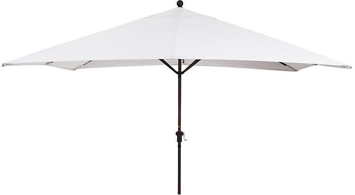 California Umbrella Rectangular Patio Umbrella - Natural