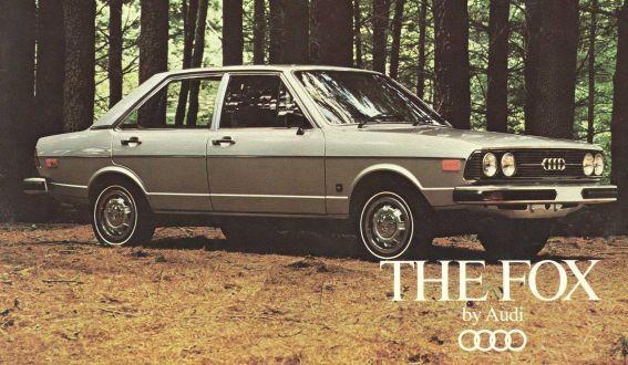 '78 Audi Fox -- hard to find!