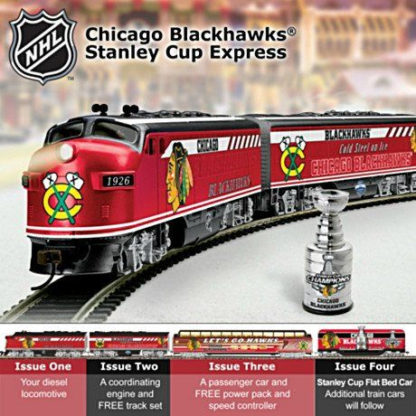 NHL® Chicago Blackhawks 2010 Stanley Cup Champions Train Collection: Championship Express