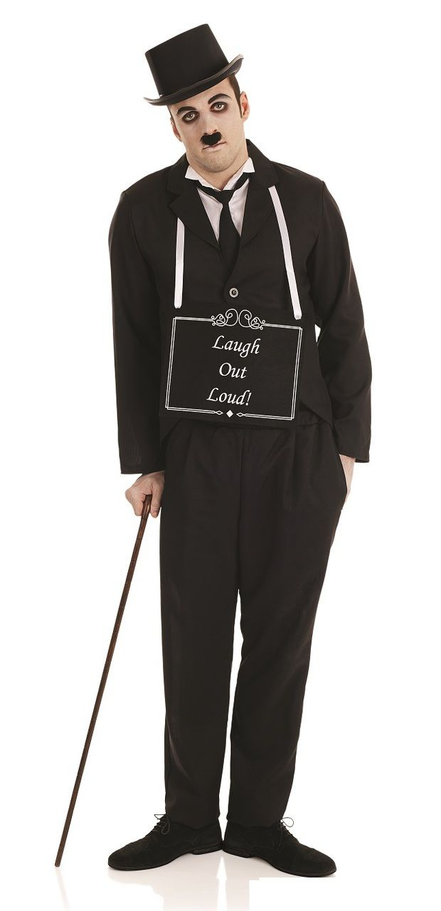 Exceptional Menu0027s Silent Movie Star Costume. This Fancy Dress Costume Will Have You  Splitting Your Sides