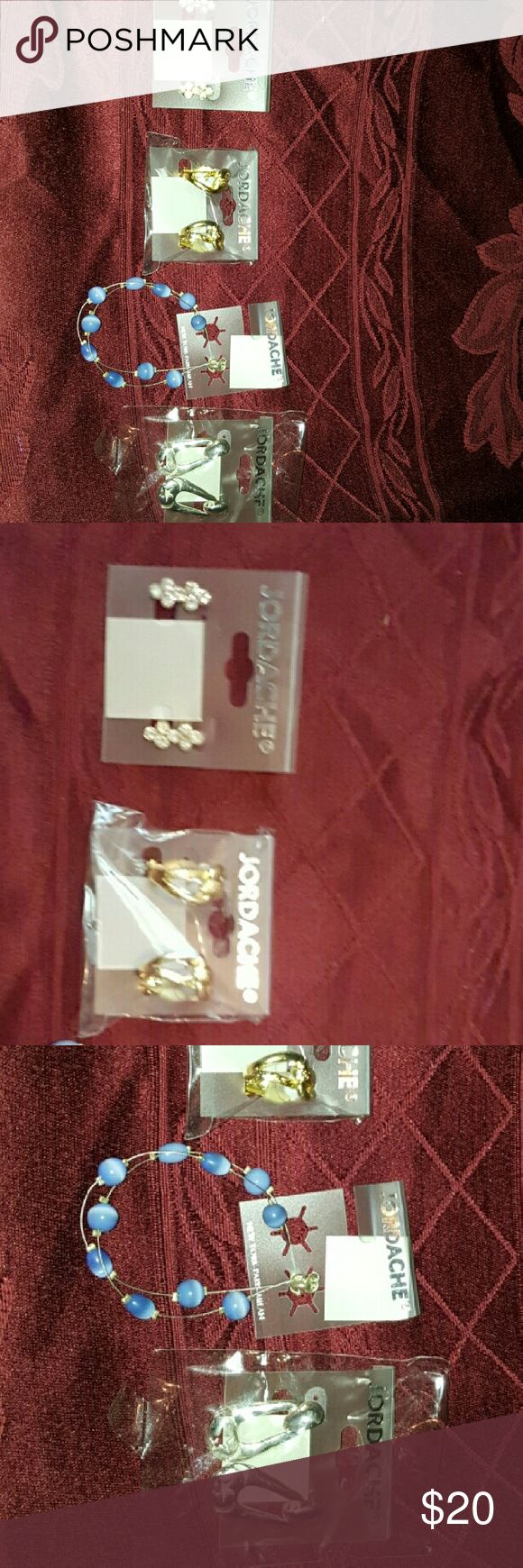 4 packs fashion nice Jordan earrings Brand new never used fundraising for Sara's Inspirational Angels for gifts for sick kids fighting diseases like Hiv aids on Christmas for red ribbon awareness month. All 4 packs for $20 Accessories