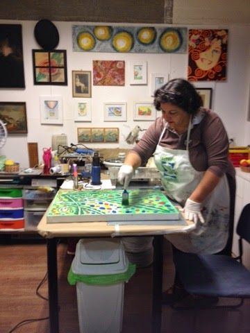Ana Carmen Nogueira - Ateliê de Artes: Encáustica - Curso