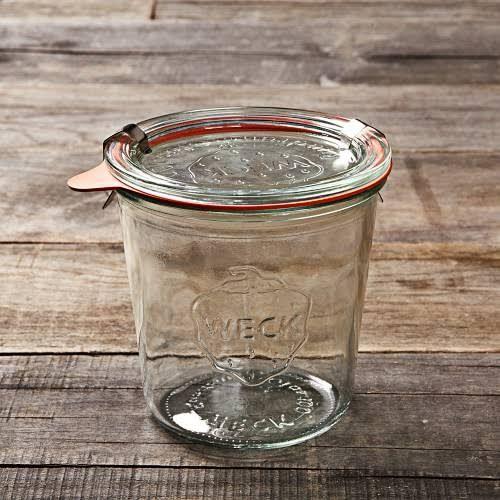 Weck Mold Jars, 19.6oz, Set of 6   Williams Sonoma - Canning Jars - Preserving Jars
