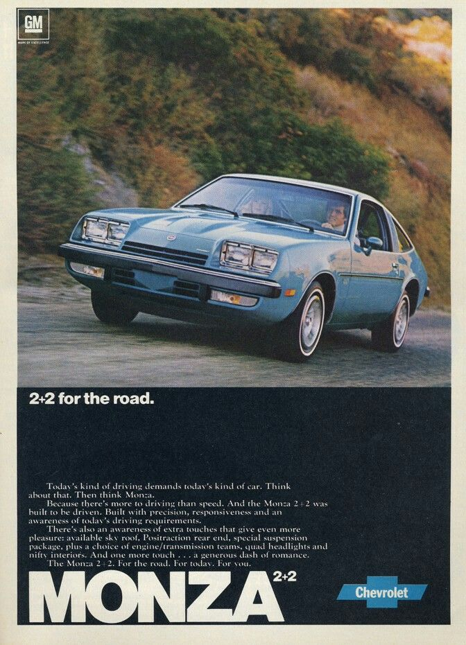 Pin By Jamie Cinder On Chevy With Images Chevrolet Monza