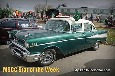MSCC Star of the Week: Saskatchewan Roughrider pride and a '57 Chevy-full story: http://www.mystarcollectorcar.com/3-the-stars/40-model-stars/2130-mscc-southside-star-of-the-day.html