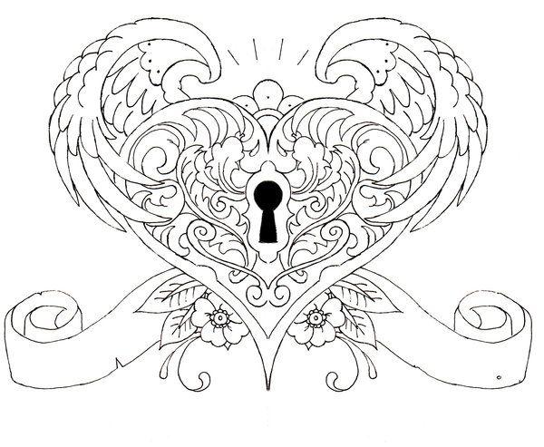 Best 25+ Key heart tattoos ideas on Pinterest | Tattoos of keys ...