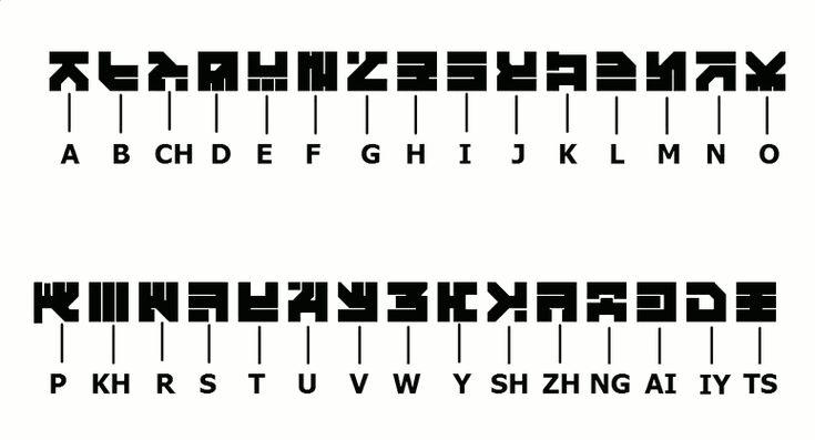 helghan alphabet - Google Search