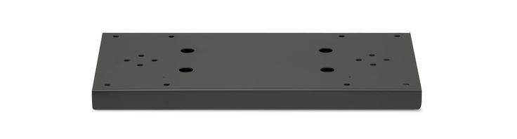 Architectural Mailboxes 5112 Double Mailbox Spreader for Standard Posts Black Mailboxes Accessories Spreader